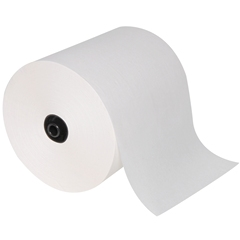 "GP enMotion® White 8"" 1-Ply Recycled Roll Towel, 6/700"
