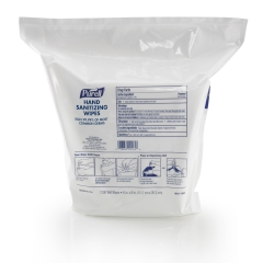 PURELL® Hand Sanitizing Wipes, Refill for Wipes Dispensers, 2/1200ct