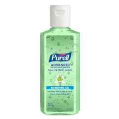 PURELL® Advanced Hand Sanitizer Aloe Gel 4oz. Portable Flip Cap
