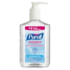 PURELL® Advanced Hand Sanitizer 8fl. oz. Table-top Pump Bottle