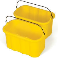 S/O 10QT SANITIZING CADDY YELLOW