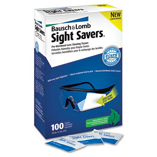 100/bx Sight Savers Lens;Cleaning Tissue
