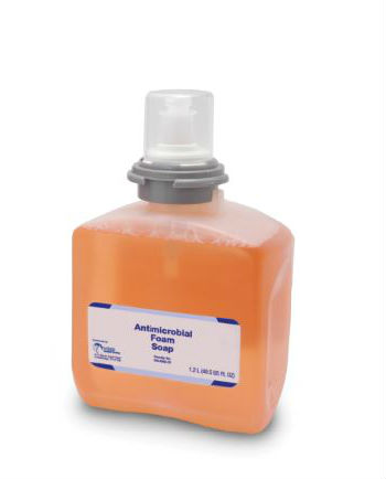 Bright Solutions Premium Foam Antibacterial Handwash Refill for TFX™ Dispenser, 2/1200ml