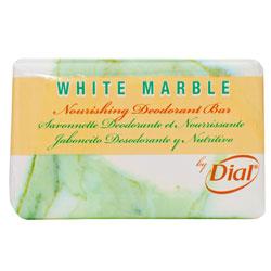 Dial[R] White Marble Deodorant Bar - 1 1/2, Wrap. 500/cs
