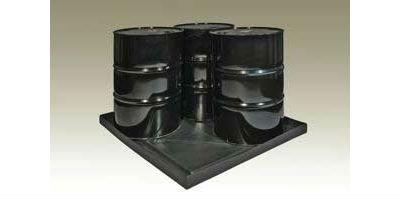 5004-BK Spill Shell;47x51x5 36gal Capacity