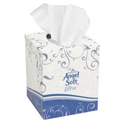 GP Angel Soft ps Ultra[TM] Premium Facial Tissue - 96 ct.. 36/cs