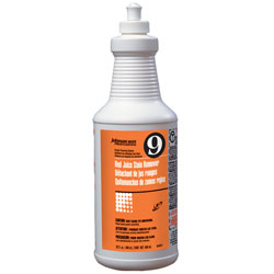 Diversey Red Juice Stain Remover - 32 oz. Bottles. 6/cs