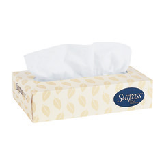 30/100 Surpass Facial tissue White