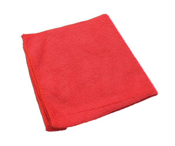 12/bg Red Microfiber All;Purpose Cloth 16x16 EPP