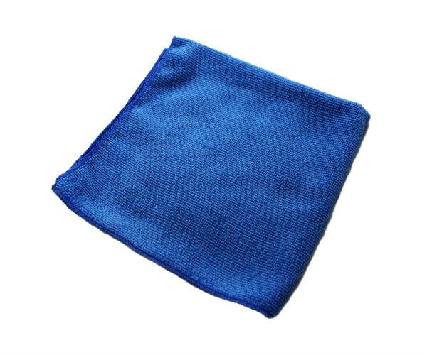 12/bg Blu Microfiber All;Purpose Cloth 16x16 EPP
