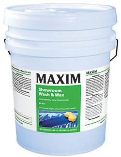 Maxim[R] Showroom Wash & Wax - 5 Gal.. ea