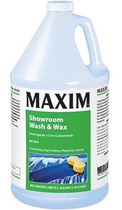 Maxim[R] Showroom Wash & Wax - Gal.. 4/cs