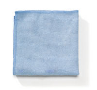 Rubbermaid[R] Light Commercial Microfiber Cloth-12x12, Blue. 288/cs