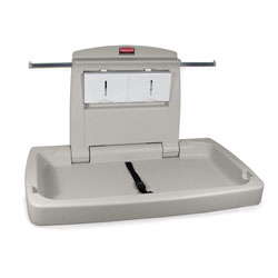 Rubbermaid[R] Sturdy Station 2[TM] Changing Table -Off White. ea