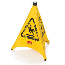 "Rubbermaid[R] Pop-Up Safety Cone - 20"". 12/cs"