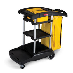 Rubbermaid[R] High Capacity Cleaning Cart. ea