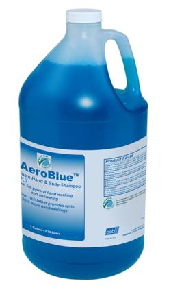 Deb AeroBlue[TM] Foam Hand & Body Shampoo - Gal.. 4/cs