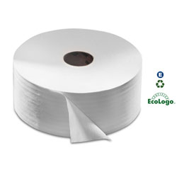 SCA Tork[R] Advanced Jumbo Roll Bath Tissue - 2-Ply, White. 6/cs