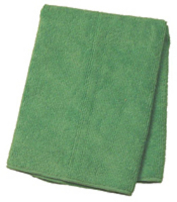 12/bg Grn Microfiber All;Purpose Cloth 16x16 EPP