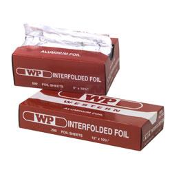 "Western Plastics Interfolded Foil Sheets - 12"" x 10 3/4"". 12/200/cs"