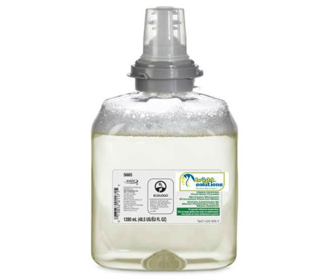 Bright Solutions Green Certified Foam Hand Cleaner Refill for TFX™ Dispenser, 2/1200ml