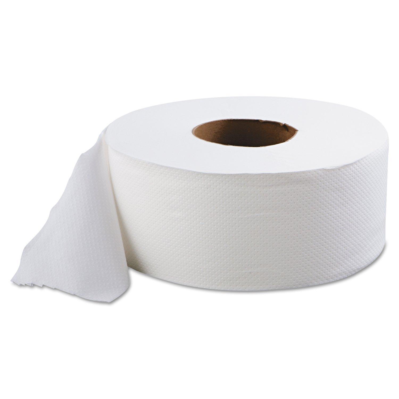 """12/cs 9"""" 2Ply Jumbo Bathroom Tissue"""