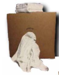 10# Reclaimed White Rags;