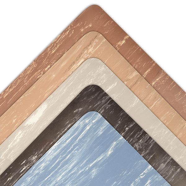 "2x3 #470 Marble Sof-Tyle;Blk 1/2"" Anti-Fatig Mat"