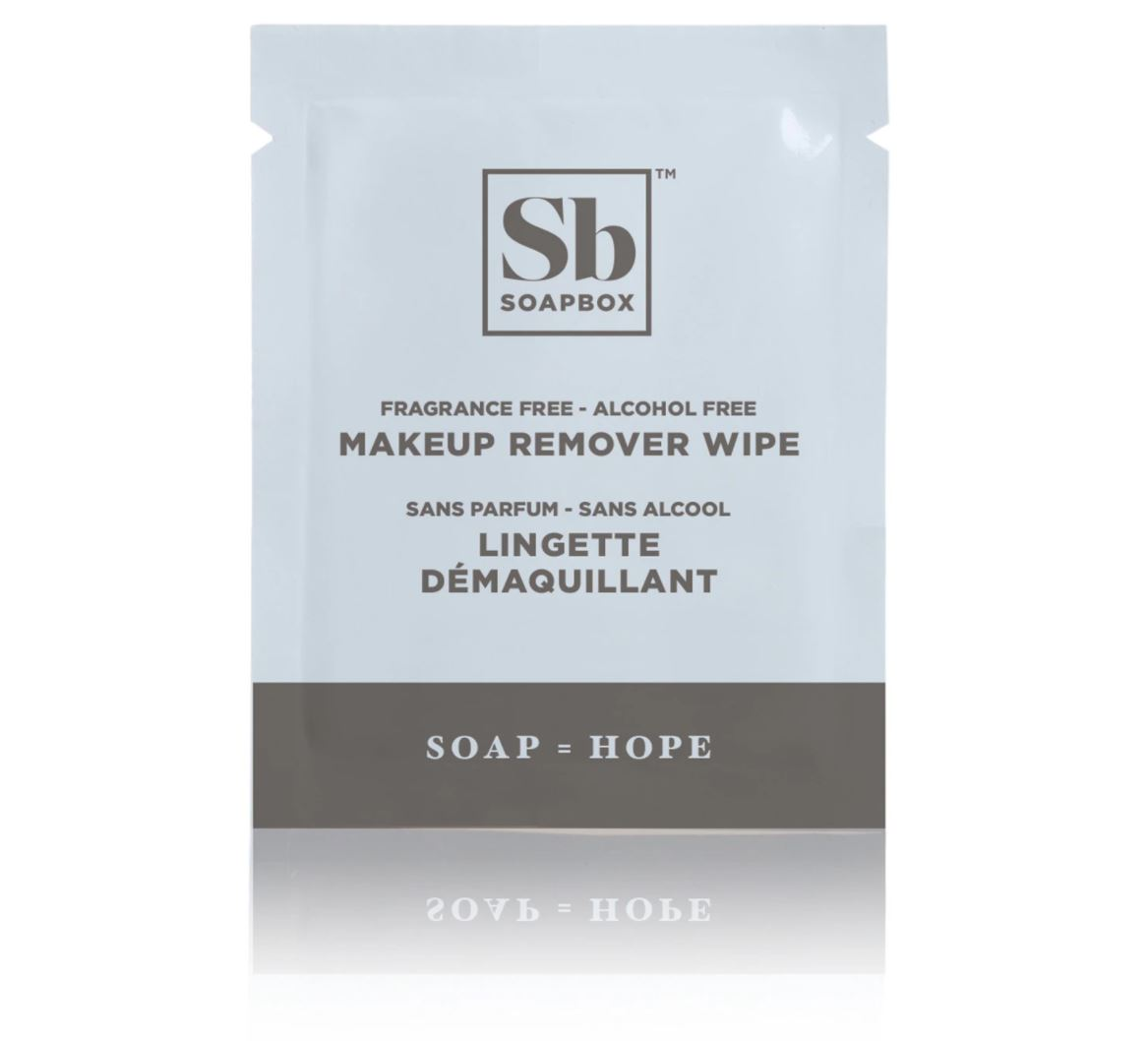 SoapBox Makeup Remover Wipe