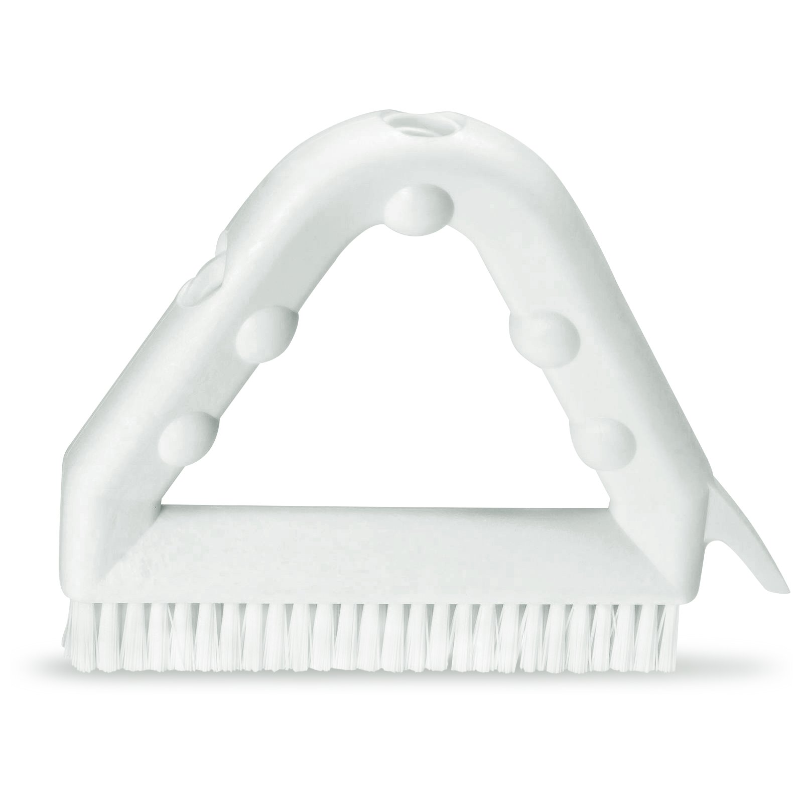 """9"""" POLY TILE & GROUT BRUSH WHT"""