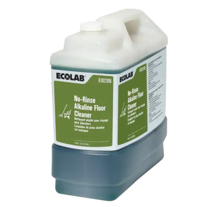 2.5g No Rinse Alkaline Floor Cleaner