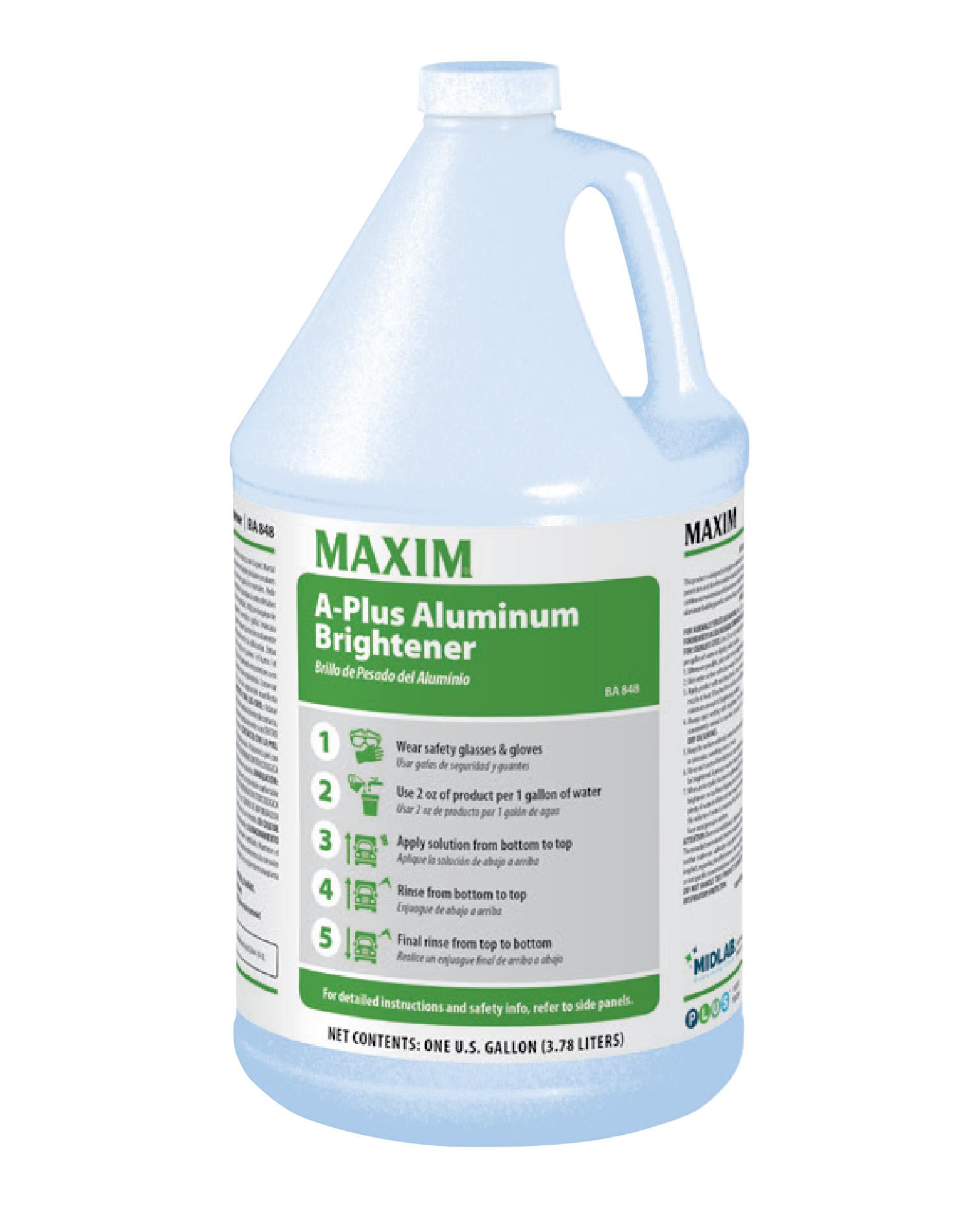 Maxim A-Plus Aluminum Brightener