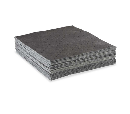 16x18 Gray Heavy Cotton Absorbent Pads, 100/cs