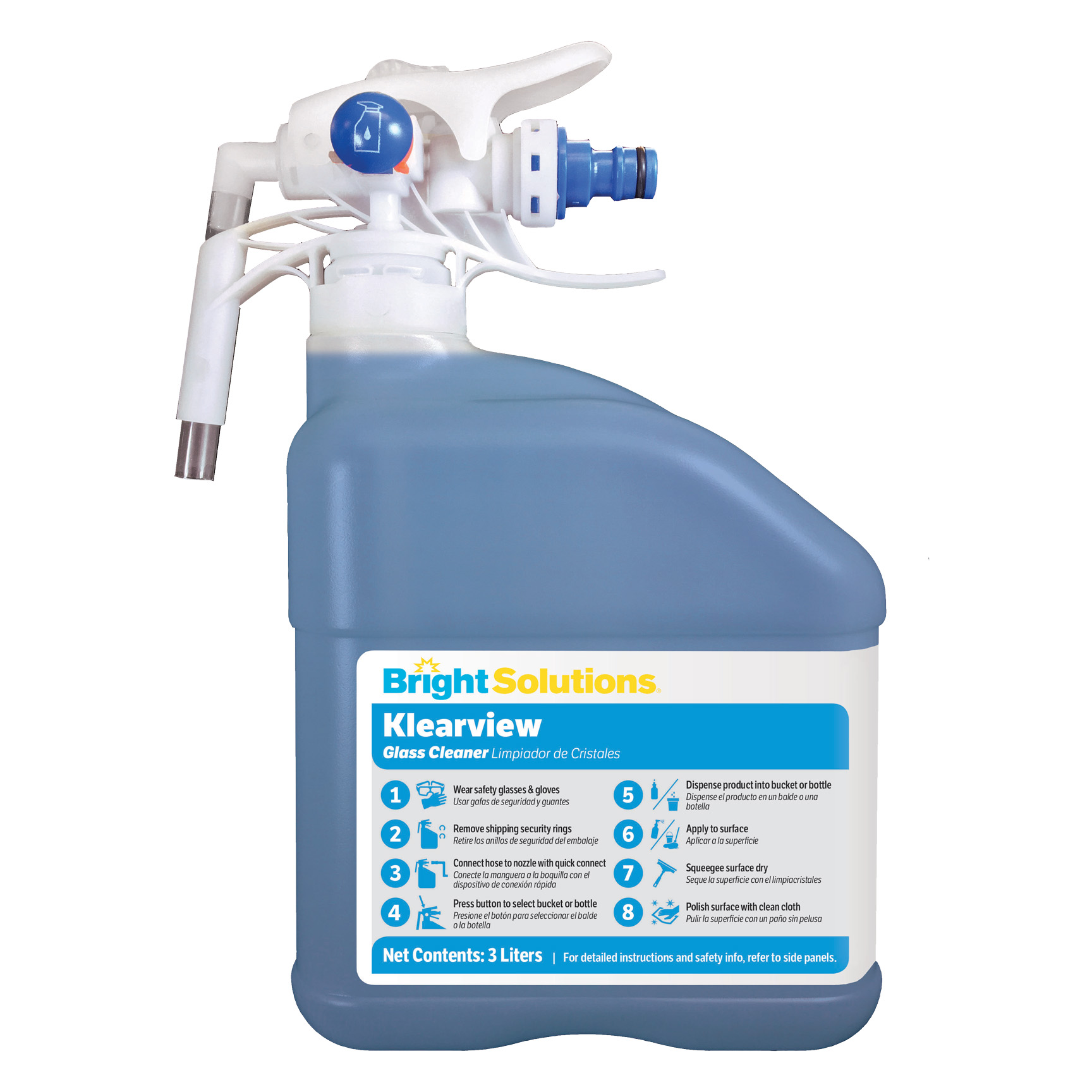 2/3L EDS Klearview Glass Cleaner