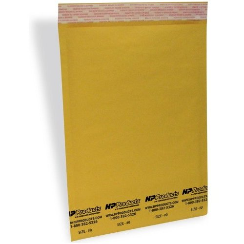 250 #0 6.5x10 Kraft;Bubble Mailers SS