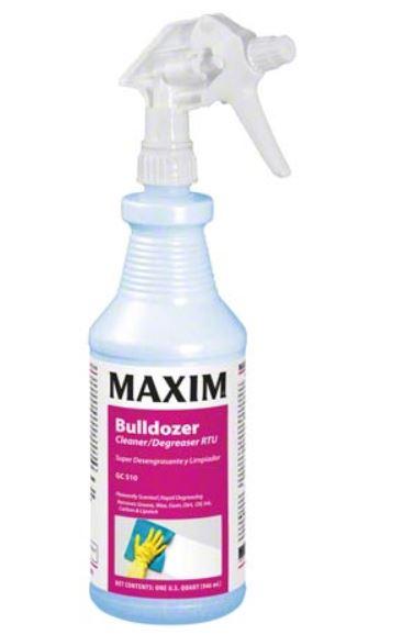 12/qt Bulldozer Cleaner Degreaser RTU