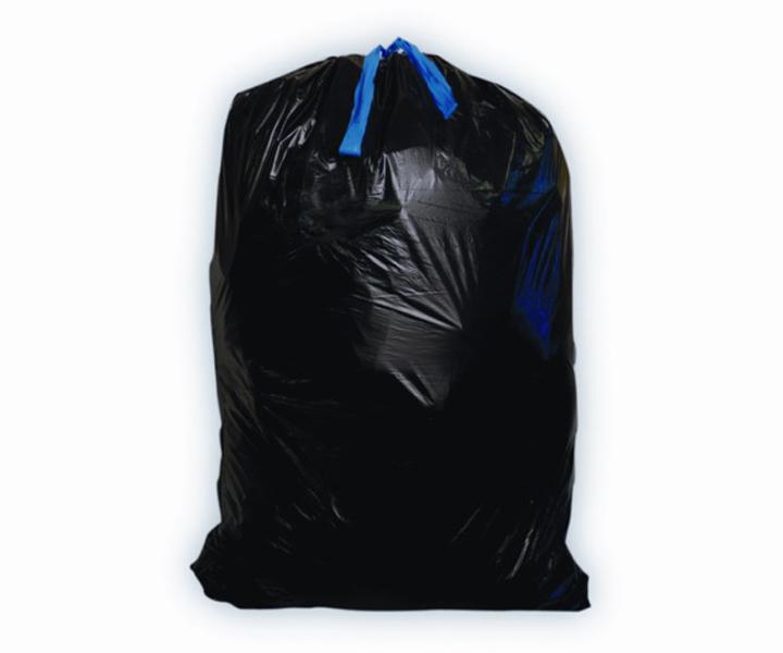 24x30, .95mil Black Low Density Blue Collar Kartpak, 75/cs, 13 Gallon
