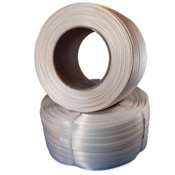 "1/2""x3610' .040 660#;White Cord Strap"