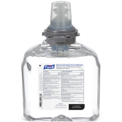 PURELL® Advanced Green Certified Instant Hand Sanitizer Foam 1200ml Refill for TFX