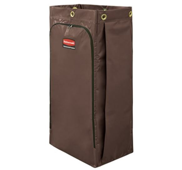 34 GAL VINYL BAG FOR HIGH CAPACITY JANITORIAL CLEANING CARTS