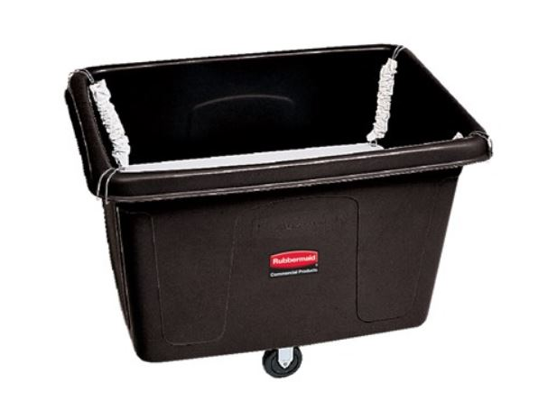 CUBE TRUCK WITH SPRING PLATFORM, 14 CUBIC FOOT, BLACK