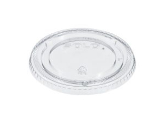 10/100 Clear Lid for Plastic Cup Non-Vented