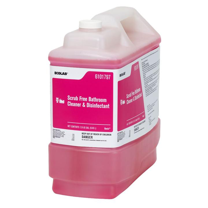2.5g Scrub Free Bathroom Cleaner & Disinfectant