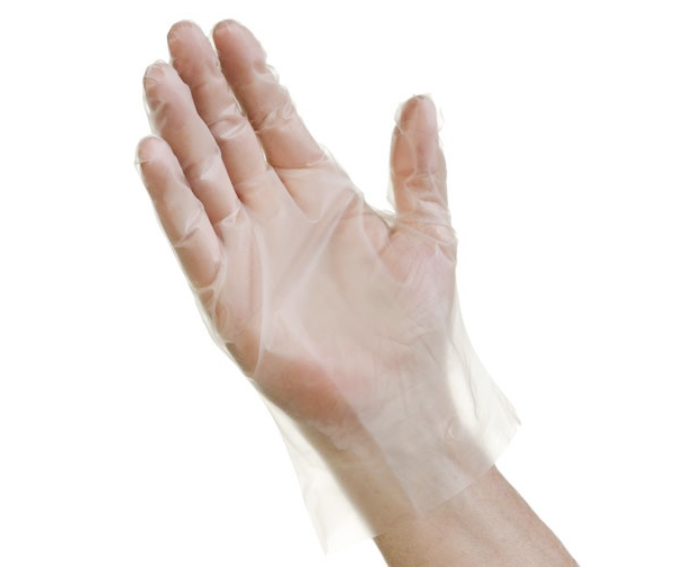 Tradex EFMD2000 Medium Plus Poly Glove