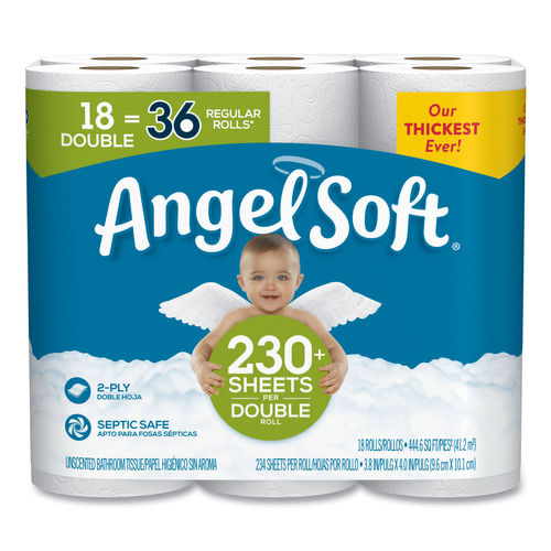 18RL/CS Angel Soft Toilet Tissue