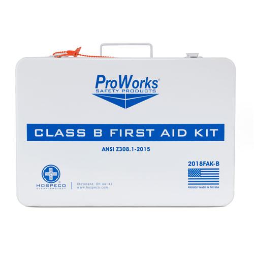 ProWorks® First Aid Kit, ANSI Class B 3 Shelf