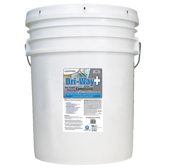 Dri-Way Plus Dry Carpet Cleaning Compound