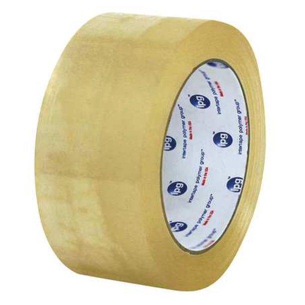 2x110 2.5mil Intertape Polymer Carton Tape, Clear Acrylic Tape, 36rl/cs