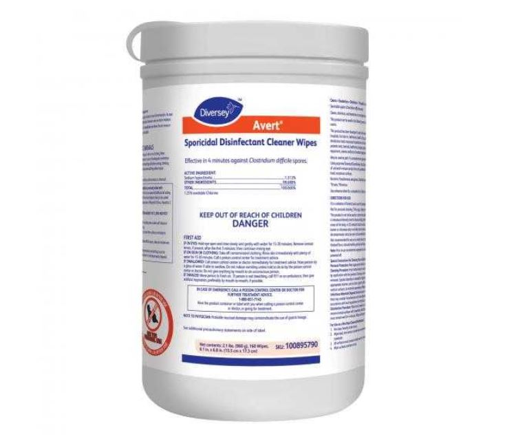 Avert® Sporicidal Disinfectant Cleaner Wipes