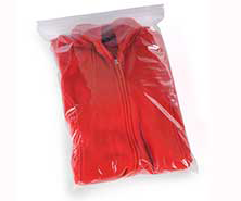 12x15 2mil Zip Top Bags, 1000/cs